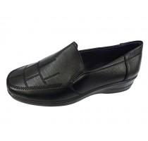09602 Дамски кожени обувки